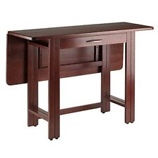 Winsome Wood 94145 Taylor Drop Leaf Table Walnut NEW