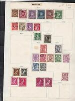 belgium  stamps page ref 18061