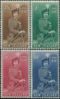 New Zealand 1953 SG733d-736 QEII high values MNH