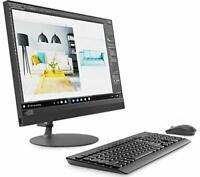 """Lenovo IdeaCentre 520 24"""" All-in-One Desktop PC AMD A12 8GB 2TB Radeon R4"""