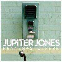 JUPITER JONES - RENNEN+STOLPERN  CD SINGLE NEW