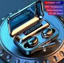 Wireless Earphones Bluetooth Headphones 3 Led Charging Box Wireless