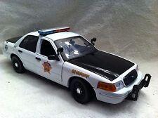 DALLAS SHERIFF POLICE UT DIECAST 1/18 SCALE MOTORMAX  MODEL NON WORKING LIGHTS