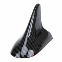 1Pc Carbon Black Shark Fin Aerial Antenna Durable Car Upper Body Part Fit Toyota