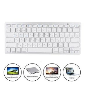 Wireless BT Keyboard Cordless For IOS/Android Macbook Windows Tablet WEK