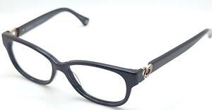 Coach Amara HC6038 5002 Black Oval Eyeglasses Frame 51-14 135 ***Parts