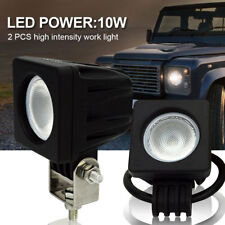 Safego 2x 10W CREE LED Work Light Flood Offroad Driving Fog Lamp SUV Truck Boat