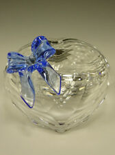 Swarovski Sweetheart Jewel Box w/Blue Bow- Jewel Vial- New in Box!