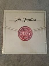 Emery The Question Vinyl LP (Cherry Red) 2015 Tooth & Nail Records Limited