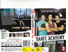 Dance Academy:Growing Pains:2-2010/13-TV Series Australia-8 Episodes-DVD