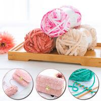 Wool Crochet DIY Craft Chenille Yarn Knitting Thread For Sweater Scarf Hat Bag