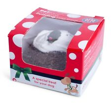 Dog Treat - Christmas Pudding by Petface, Stocking Filler, Festive, Fun Present