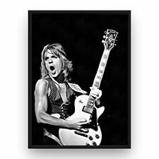 Randy Rhoads Poster 13x19 Fine Art Canvas Black and White Print