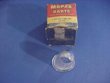 1951-52-53-54-57-58 MOPAR CHRYSLER PLYMOUTH DODGE LICENSE LAMP LENS (NOS)