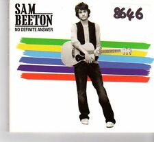 (FR702) Sam Beeton, No Definite Answer - 2008 DJ CD