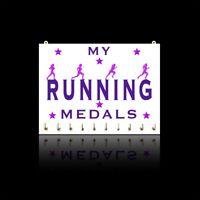 Running Sports Medal Hanger Displays - My Running Medals - Males - Females