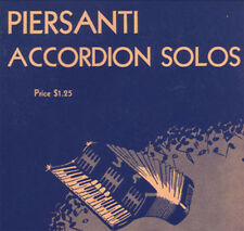 13 Piersanti Accordion Solos NOS Out Of Print  Two Guitars El Choclo O-Marie