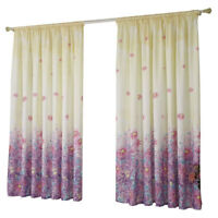 Window Curtain Floral Voile 1M*2M Tulle Shading Fit Bedroom Living Room