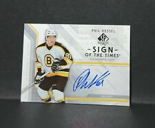 06-07 UD SP AUTHENTIC PHIL KESSEL RC SIGN OF THE TIMES AUTO #ST-PK - 2006 SPA