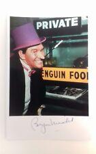 "BATMAN 60s TV SERIES - Actor Burgess Meredith 6""X4"" Colour TV Autograph Reprint"