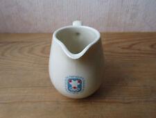 Ancien petit pot à lait ou à crème Jeux Olympiques de Grenoble JO 1968 Lunéville