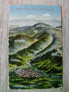 Bischofsheim i.d.Rhön mit Umgebung , gel.1925 , Eugen Felle !