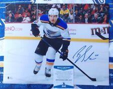 Brayden Schenn autographed 11x 14 St. Louis Blues photo - Beckett Authenticated