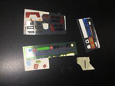 Transformers Master Piece MP G1 some Unused Sticker Sheets LOT #1 classics smoke