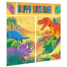 Dinosaurs Party Decorations Boys Birthday Supplies Scene Setter
