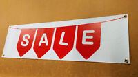 SALE SIGN PVC BANNER FULL COLOUR VINYL BANNERS SHOP WINDOW RETAIL SALE DISPLAY