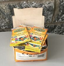 Digimon Trading Cards Serie Gialla Set 55 Bustine Nuove In Box Ufficiale