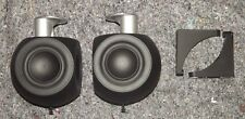 Bang & Olufsen B&O BeoLab 3 Loudspeakers with Wall Brackets Black (Pair)