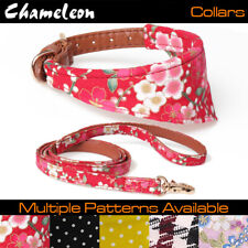 Chameleon Dog / Cat Small Bandana Collar- Adjustable Pet Neckerchief / Lead