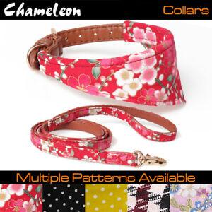 Chameleon Dog / Cat Small Bandana Collar- Adjustable Pet Neckerchief / Lead