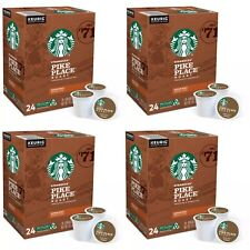 Starbucks Pike Place Medium Roast Coffee-96 Count Keurig K-Cups EXP:12/2021-NEW!