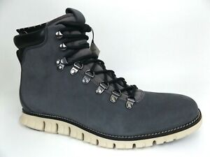 Mens COLE HAAN Zerogrand Hi Top Hiker WR Pinstripe SZ 9.0 M, Ankle Boots,  17780