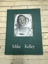 Mike Kelley Hard Cover Book Kunsthalle Basel Portikus Frankfurt London 1992