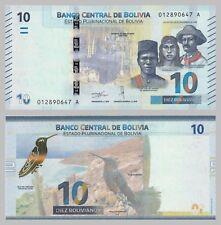 Bolivien / Bolivia 10 Bolivianos 2018 unz.