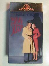 The Big Sleep 1946 B&W Film Vhs Videotape Humphrey Bogart Lauren Bacall M201378