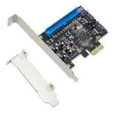 Syba 2 SATA and 1 IDE Port PCI-e x1 Card w/ Low Profile Bracket SI-PEX40059