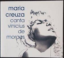"""MARIA CREUZA """"CANTA VINICIUS DE MORAES""""   CD"""
