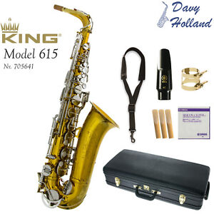 PreOwned KING 613 Alto Saxophone - 1970s - Repadded PERFECT - Ships FREE WRLDWDE