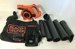 Black and Decker LSWV36 Lithium Sweeper Vacuum KIT 36V, L.N