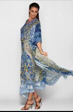 CAMILLA FRANKS Silk Song Harpie Kaftan One size Embellished maxi dress STUNNING