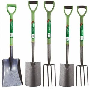 Heavy Duty Steel Garden Gardening Tools Digging Border Edging Spade Fork Shovel