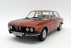 KK Scale 1/18 Scale KKDC180402 - 1971 BMW 3.0S E3 MkII - Met Red Brown