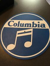 """Ltd.Edition COLUMBIA Records Nippon Japan  7"""" or 12"""" Turntable / Platter MAT NEW"""