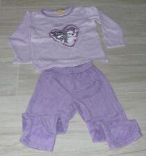 502 - Pyjama velours 5 ans ZHU ZHU PETS
