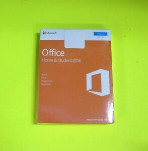 Microsoft Office Home and Student 2016 1PC ENG Activation Key in Box Life Time