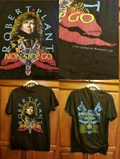 Vintage Robert Plant Led Zeppelin Nonstop Go World Tour 1988 Large Concert Band